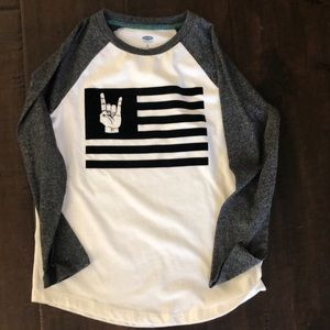 Old Navy long sleeved top
